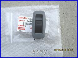 05-11 Toyota Tacoma 4d Cab Rear Passenger Side Power Window Switch Gray Oem New
