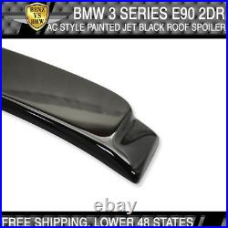 07-13 BMW 3 Series E92 2Dr AC Style #668 Jet Black Painted Roof Spoiler