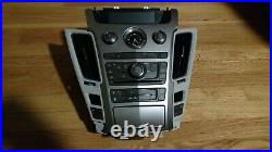 08-09 Cadillac CTS Radio CD Nav AC Climate Control Panel with Heated Seats OEM
