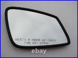 09-17 BMW 5/6/7/GT F01/F06//F10/E60 RIGHT Auto DIM HEATED MIRROR GLASS USA FRAME