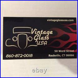 1928 1929 1930 1931 Ford Model A Tudor Sedan Glass Set Clear Vintage Glass