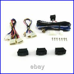 1961-72 Lincoln Power Window Kit Bosch Motor Cut-to-Fit with Switches Continental