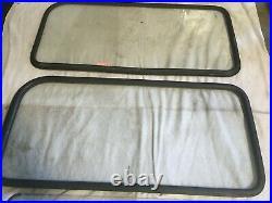 1967 Toyota Land Cruiser FJ40 Hard Top Glass- Original glass- 2 sets & Curved