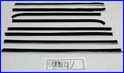 1968-1970 Dodge Charger Window Beltline Weatherstrip Kit (8 Pieces)