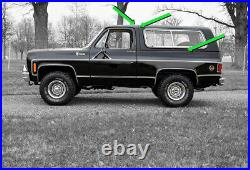 1976 91 Hardtop Seal Kit for Chevrolet K5 Blazer Chevrolet Blazer GMC Jimmy