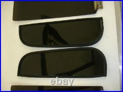 1981-87 Chevy & GMC Truck 73-91 Suburban Door Glass FACTORY DARK TINT 4PCS SET