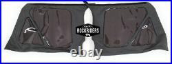2003-2006 Jeep Wrangler Rear Side Driver & Passenger Tinted Windows in Black