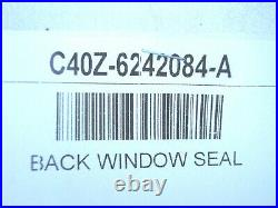 64 65 1964 1965 Ford Fairlane Sedan Car Back Window Glass Rubber Seal New