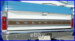 67-72 Chevy C10 Truck Chrome Plated Rear Fleetside Bed Bumper Premium Quality