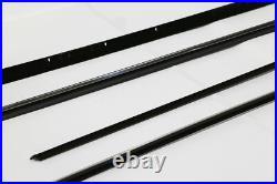 71-74 Impala Custom Coupe Windowfelt Window Felt Sweeps OE Style 8pc Kit REPOPS