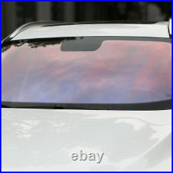 80%VLT Chameleon window tinting film Auto Car glass Sticker Decor Self Adhesive