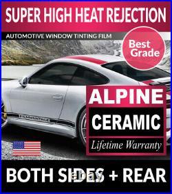 Alpine Precut Auto Window Tinting Tint Film For Toyota Prius 10-15