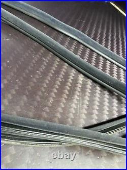 BMW E36 M3 Passenger Driver Panel Seals Black Right Left Quarter Rear