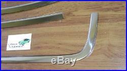 Camaro Firebird 67-69 Rear Glass Window Molding 5pc OE type show quality stainls