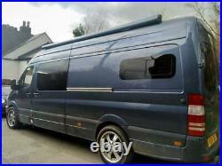 Camper Van Bonded Vent Window Universal Tinted Sliding Window 780 x 240
