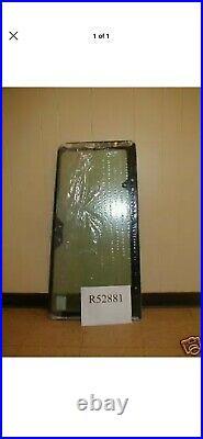 Case 580K 580SK 580L 580SL 590T Left DOOR REAR WINDOW HINGED R52881 cab glass