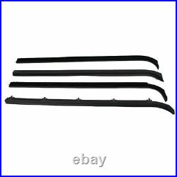 Complete Seal Kit All Black Window Trim for F-Series 80-86