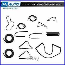 Complete Weatherstripping Seals Kit for Ford F100 F150 F250 F350 Pickup Truck
