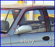 DATSUN SUNNY B13 SENTRA GXE XE 4 DOOR WINDOW GLASS Channel Felt Run RUBBER SEAL