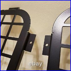 Defender Rear Quarter Glass Window Guard for Land Rover 90 110 Ratel-X set of 2