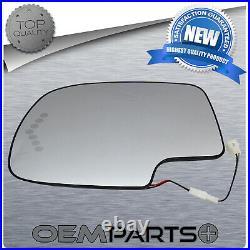 Driver Side Rear View Mirror Assembly Heated Fits Sierra Silverado Yukon Tahoe