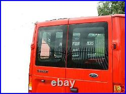 FORD TRANSIT all models, 2000 on, rear door glass