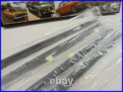 FOR MAZDA B2000 B2200 B2600 1985-1998 Inner&Outer Door Belt Weatherstrip Rubber