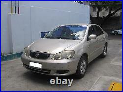 FOR TOYOTA Corolla Altis CE120 ZZE121 ZZE122 GLASS SEAL DOOR BELT WEATHERSTRIP