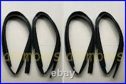 FOR TOYOTA LAND CRUISER FJ60 FJ62 BJ62 Glass window Channel Felt Run rubber door