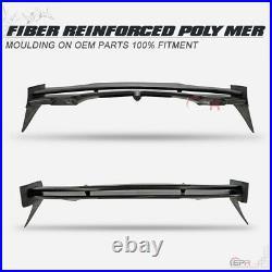 Fiber Glass DUAG Style Rear Roof Window Spoiler For 07-13 Mini Cooper S R56 FRP