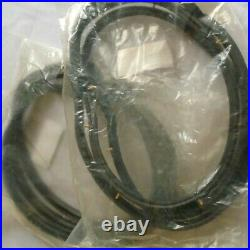 Fits 80-86 Datsun 720 Pickup Weatherstrip Rubber Complete Set Seal 4xSpare Parts