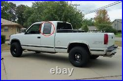 Fits 88-99 Chevy Pickup 1500 2500 3500 Driver Left Side Quarter Glass only