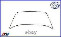 Fits Mopar 67-76 Dodge Dart 71-76 Scamp Rear Glass Reveal Window Trim 2dr hdtp