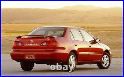 For TOYOTA Corolla EE110 AE110 AE111 GLASS SEAL DOOR BLACK BELT WEATHERSTRIP