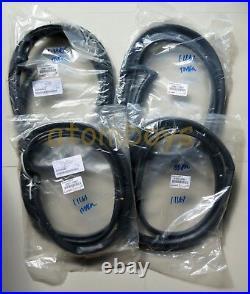 For Toyota Corolla Ae90 Ae92 Ee90 Ee92 4 Door Sedan Seal Rubber Weatherstrip 87