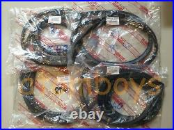 For Toyota Corona Rt40 Rt41 Rt43 Rt50 Sedan 4 Door Rubber Weather Strip Seal