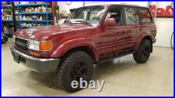 For Toyota Land Cruiser FJ80 FZJ80 Door Belt Weatherstrip Front/Rear Outer 1990