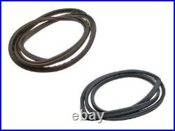 Front & Rear Windshield Seal Set 1973-1980 MERCEDES W116 280S 450SE 300SD URO