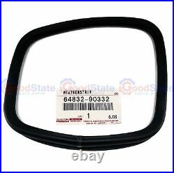 GENUINE Toyota Landcruiser HJ45 Rear Corner Window 1/4 Quarter Glass Rubber x2