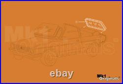 Gen. VW Rabbit Conv. Cabriolet Rear Glass Window Seal