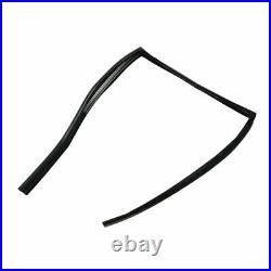 Glass Window Rear Run Channel Seals Pair Kit with Insert for Impala Bonneville