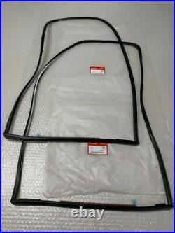 HONDA CIVIC EG6 Rear Quarter Glass Window Molding Seal Right & Left Set Genuine