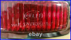 Hella red lens 3rd brake light bumper mount vintage vw volvo type 3 Bus bug Led