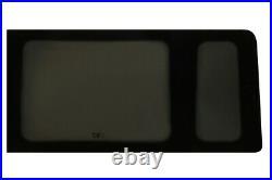 JK Rear Side Fixed Window Glass Dark Tinted Nearside (Left) Ford Transit MWB 20