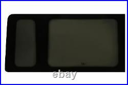 JK Rear Side Fixed Window Glass Dark Tinted Offside (Right) Ford Transit MWB 20
