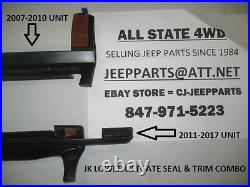 Jeep Wrangler Jk 2007-2010 Lower Hard Top Lift Gate Seal & Trim Assembly