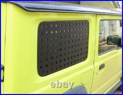 Kit For Suzuki Jimny 2019-20 Rear Trunk Side Triangular Window Glass Plate Cover