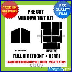 Land Rover Defender 110 5-door 1994-2009 Full Pre Cut Window Tint