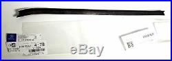 Mercedes Inner Window Brush Seal Rear Pair New OE W123 Coupe