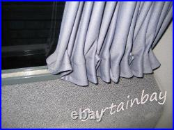 Mercedes Vito 638 V Class rear curtains complete set blinds campervan grey